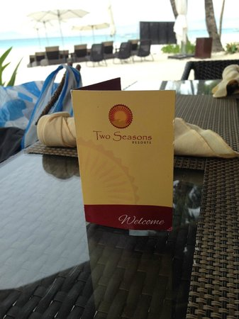 Two Seasons Boracay Resort : На завтраке