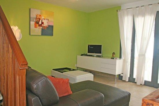 Lanzarote Green Villas: Salon Estar