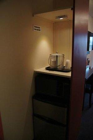 Hotel Ruby: Kühlschrank