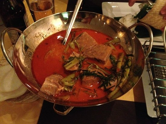 Thai Star: Panaeng curry with tuna - amazing!
