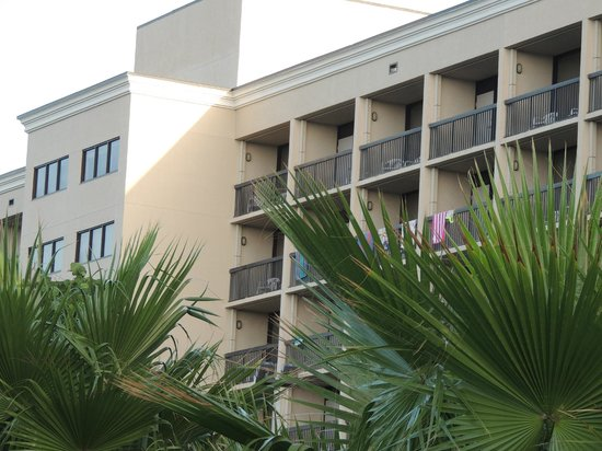 Hampton Inn Cocoa Beach/Cape Canaveral: The top floor rooms are the best.