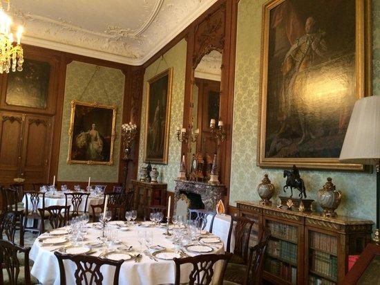 Schloss Hotel Kronberg: Dining hall