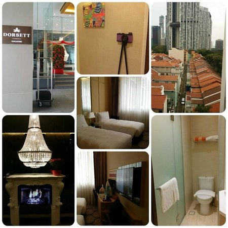 Dorsett Singapore: Our room