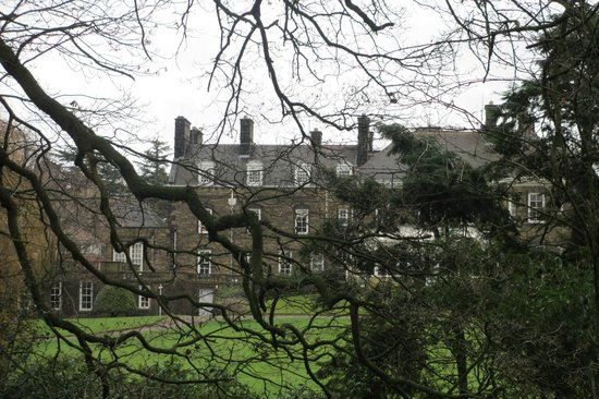 Judges Country House Hotel: The Hall from behind the trees