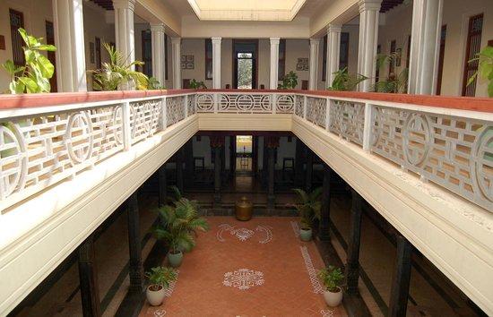 Visalam: Internal courtyard looking towards reception