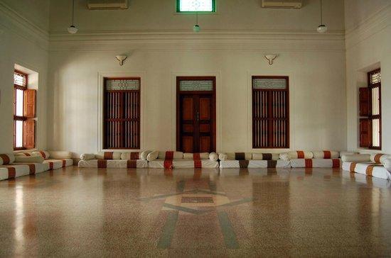 Visalam: vast traditional sitting area upstairs