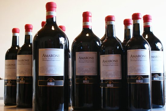 Amarone Brunelli - Wines since 1936: Mathusalems of Amarone