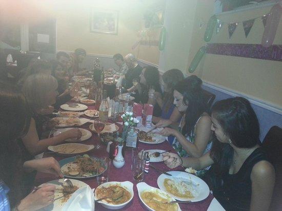 Monsoon Indian Restaurant & Takeaway: Birthday Party