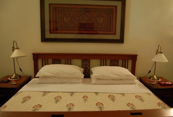 The Bangala: A confortable firm bed