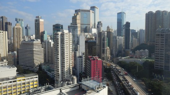 Cosmopolitan Hotel Hong Kong (to be renamed Dorsett Wanchai, Hong Kong in Oct 2016): Day view from room 3