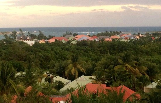 Green Cay Villas: View of Orient Beach