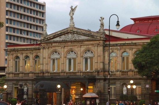 Teatro Nacional Costa Rica : Facade