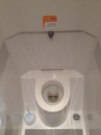 hotelF1 Geneve Aeroport Ferney Voltaire : Voici le toilette le plus propre... Si si