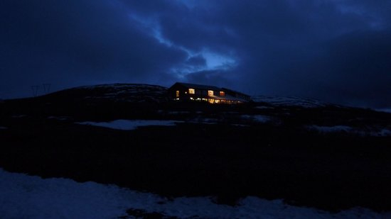 Hotel Glymur: Glymur at dawn
