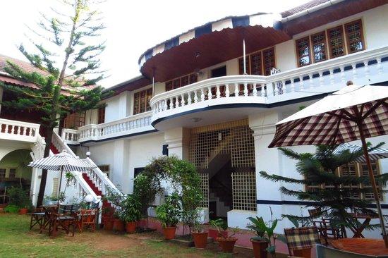 Fort Heritage: Patio interieur de l'hotel