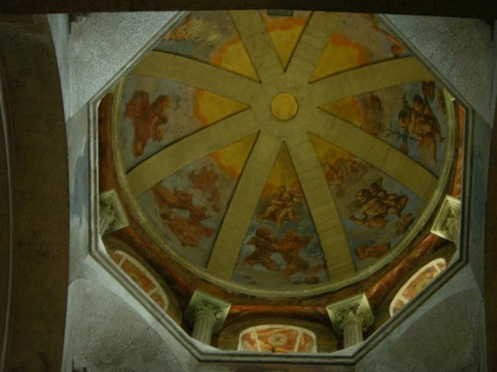 Palais des Papes : Ceiling of the Cathedral Dome