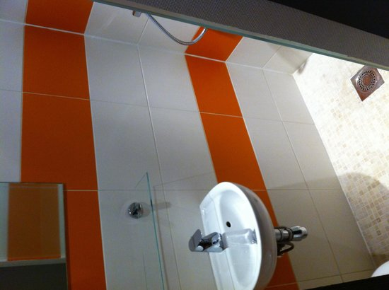 Hôtel Mimosa: Coin toilette douche