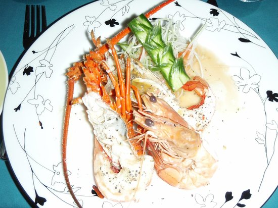 Riverside Inn Fuji Bentota: Dinner