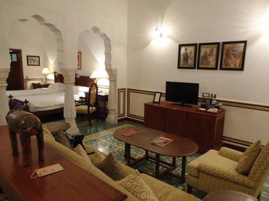 Samode Haveli : room (palace suite)