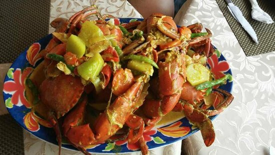 Scandi Divers: ginger fried crabs