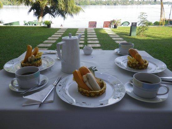 Riverside Inn Fuji Bentota: Frühstück