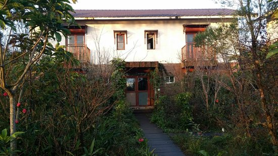 Canaan Bed & Breakfast Yilan : entrance to our room