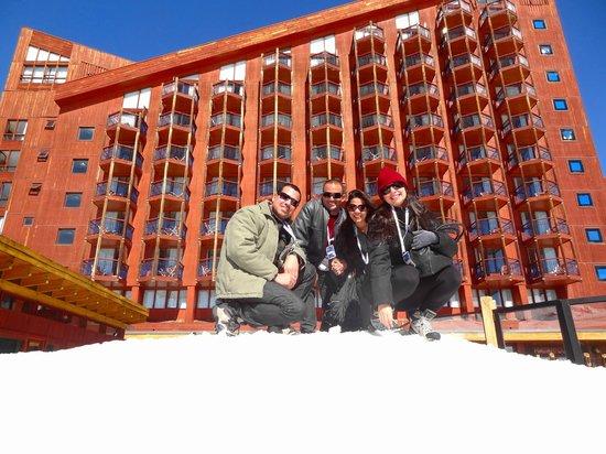 Puerta del Sol Hotel: Fundos do hotel
