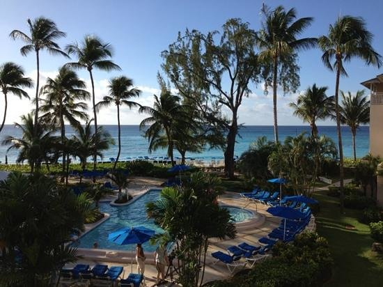 Turtle Beach by Elegant Hotels : view from room 319.
