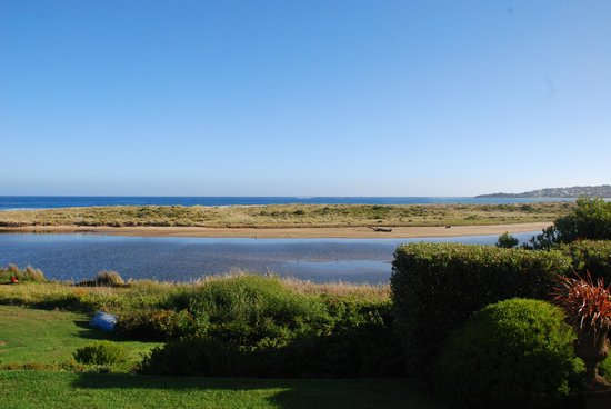 Apollo Bay Guest House: this is the view from our room