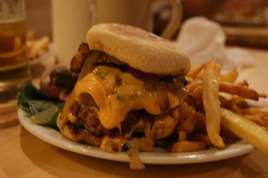 The Bird: Triple Hamburger