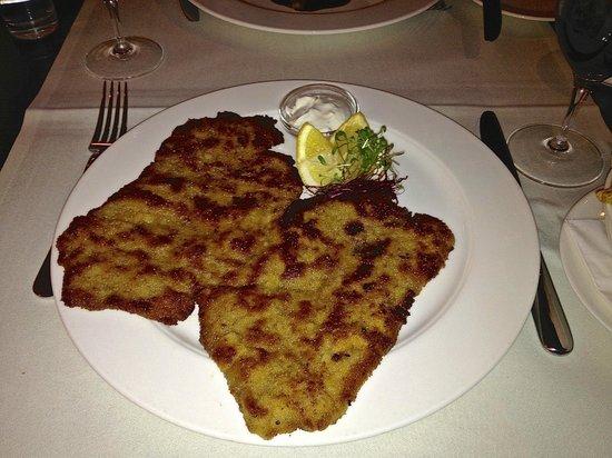 Belcanto: so muss ein Wiener Schnitzel aussehen und schmecken