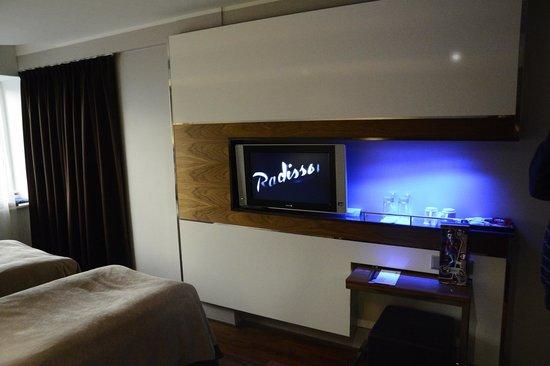 Radisson Blu Hotel Olumpia: Дизайнерские решения
