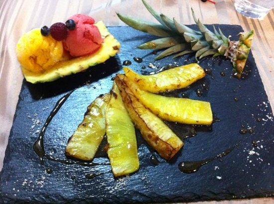 Kimch'i : Ananas au caramel