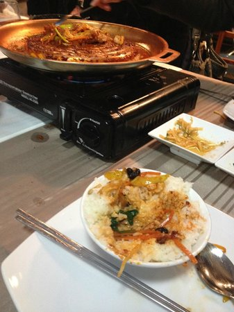 Kimch'i : Barbecue de porc