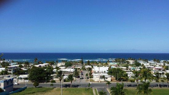 Hotel Rosa del Mar: Desde la piscina
