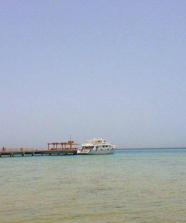 Steigenberger Al Dau Beach Hotel: plage de l'hôtel