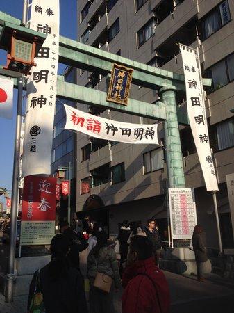 Kanda Shrine: 鳥居