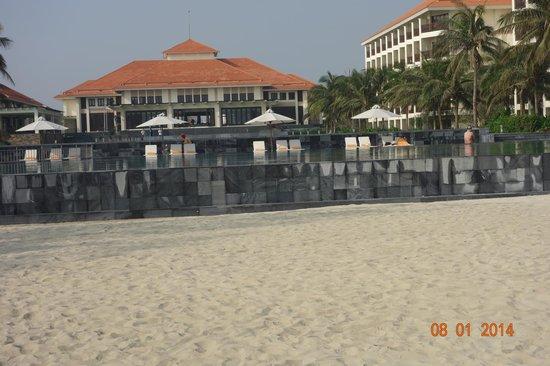 Pullman Danang Beach Resort: View from the beach