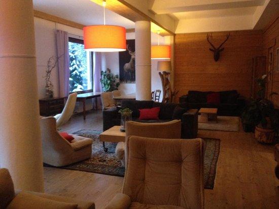 Hotel Les Campanules : Living room on 1st floor