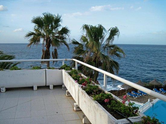 Sol La Palma Hotel: corner terrace view