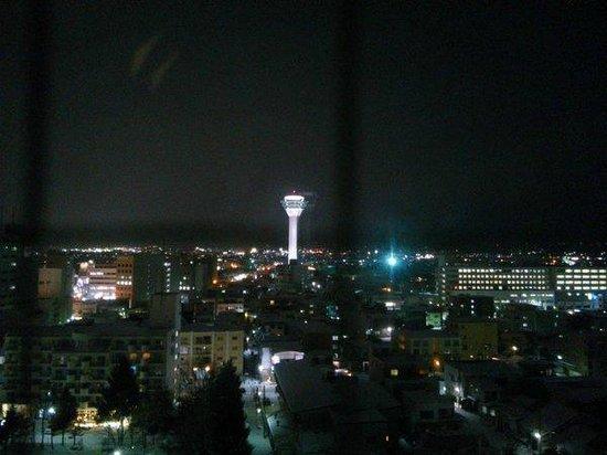 Hotel Nets Hakodate : 部屋からの夜景