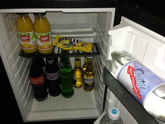 Secrets Maroma Beach Riviera Cancun: free mini bar (stocked daily)