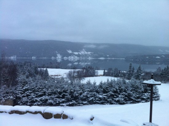 Bras d'Or  Lake: The Bras d'Or in the winter