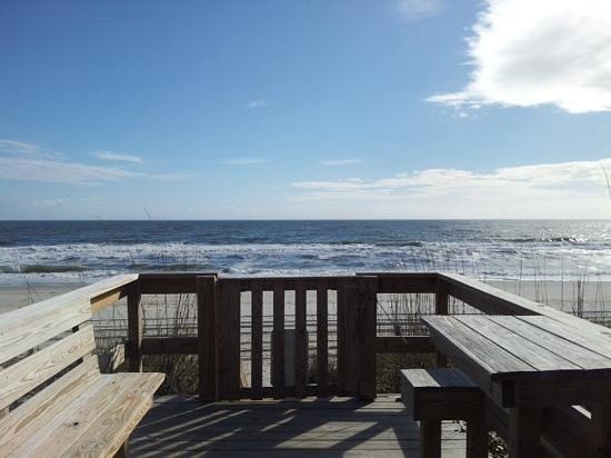 Cabana 202: Cabana's private entry to beach