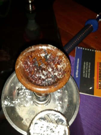 Crepe-ology : Shisha with minimum flavor and they say its great....