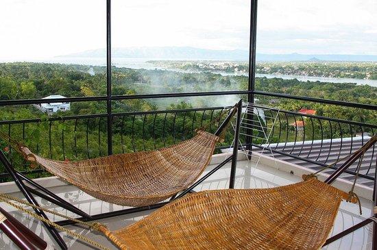 Bohol Vantage Resort: patio