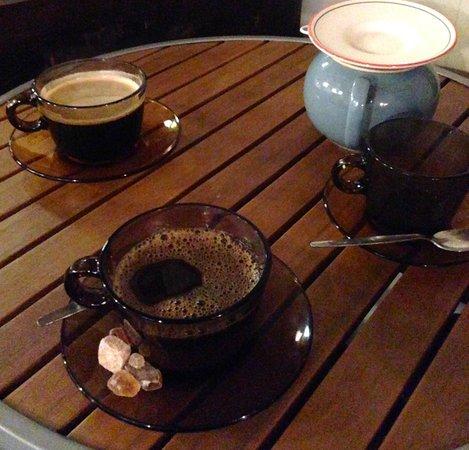 Coffee and Tea at Tiu Dropar