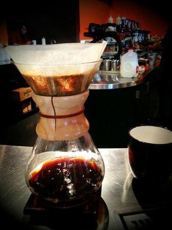 SteamDot Coffee Company: Chemex