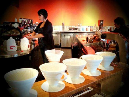 SteamDot Coffee Company: Dripping
