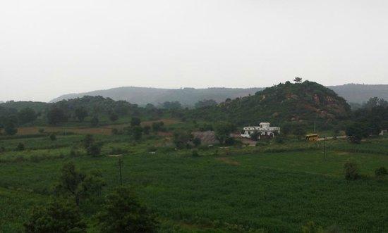 Urusvati Museum of Folklore: aravalli view